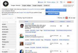 como darte de alta en Google Directory de Google +