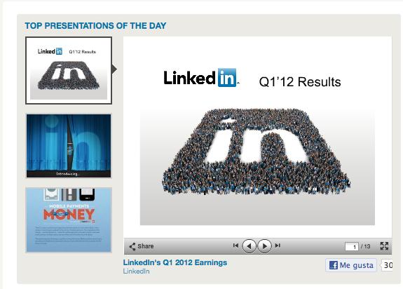 Linkedin adquiere Slideshare = más valor para los profesionales