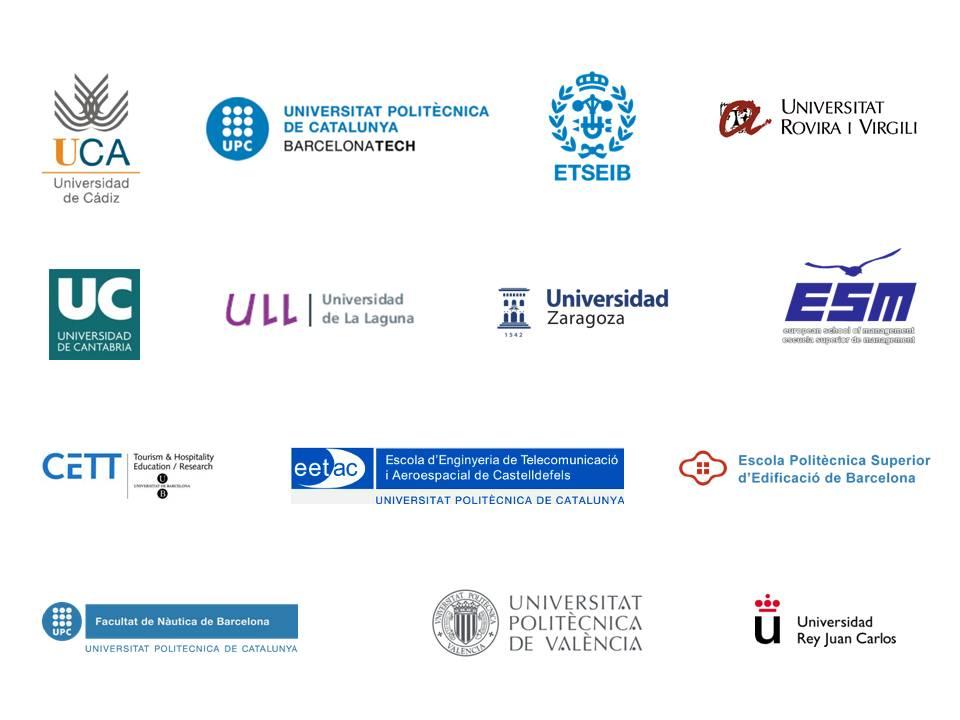 logotipos centros universitarios colaboradores